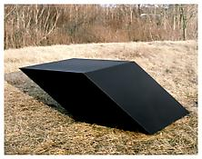 <i>For V.T.</i> 1969 Welded bronze, black patina 28 x 56 x 84 inches; 71 x 142 x 214 cm