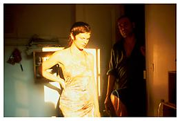 <i>Valerie in the light,  Bruno in the dark, Paris</i> 2001 Cibachrome 40 x 60 inches; 102 x 152 cm