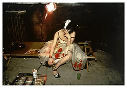 <i>Trixie on the cot, NYC</i> 1979 Cibachrome 30 x 40 inches; 76 x 102 cm