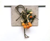 <i>Bouquet #6</i> 1991 Mixed media 18 x 19 x 4 inches; 46 x 48 x 10 cm
