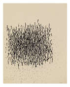 Craig Kauffman <i>Untitled</i> 1959 Ink on paper 19 5/8 x 15 5/8 inches; 50 x 40 cm