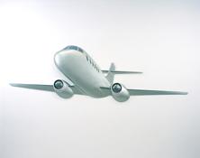 Martin Honert <i>Flugzeug (Airplane)</i> 1995 Acrylic on epoxy resin 156 1/4 x 47 1/4 x 6 1/4 inches; 397 x 120 x 16 cm