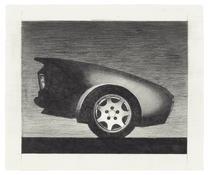 <I>280Z</i> 1990 Graphite on paper  20 x 24 inches; 51 x 61 cm