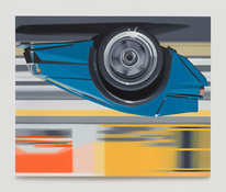 <I>EB 110</i> 1993 Oil on linen 90 x 110 inches; 229 x 279 cm