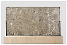 <i>0 - 9</i>, recto, 2008, Silver, 20 1/8 x 37 7/8 x 1 1/4 inches; 51 x 96 x 3 cm