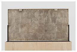 <i>0 - 9</i>, verso, 2008, Silver, 20 1/8 x 37 7/8 x 1 1/4 inches; 51 x 96 x 3 cm