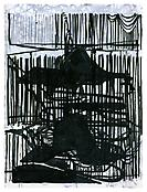 <i>Untitled</i> 2000 Ink on paper 22 3/4 x 30 1/4 inches; 58 x 77 cm