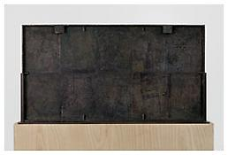 <i>0 - 9</i>, verso, 2008, Bronze, 19 3/4 x 37 5/8 x 1 1/4 inches; 50 x 96 x 3 cm