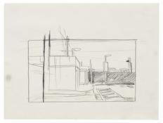 <I>Untitled</i> 1996 Graphite on vellum  9 x 12 inches; 23 x 31 cm