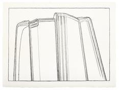 <I>Saturday Disaster</i> 1993 Graphite on paper  22 1/2 x 30 inches; 57 x 76 cm