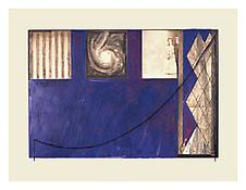 <i>Untitled</i> 2001 Acrylic over intaglio on paper 24 1/2 x 32 1/8 inches; 62 x 82 cm