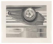 <I>EB 110</i> 1993 Graphite on paper 29 1/2 x 35 3/4 inches; 75 x 91 cm