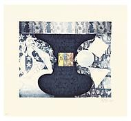 <i>Shrinky Dink 3</i>, 2011, Intaglio with Gampi chine collé on Revere Standard White, Plate: 20 x 24 inches; 51 x 61 cm, Sheet: 28 3/4 x 31 3/4 inches; 73 x 81 cm