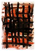 <i>Untitled</i> 22 January 1991 Gouache, pastel, ink and charcoal on paper 39 1/2 x 27 5/8 inches