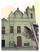 <i>Quimbanda Presiding</i> 2001 C-print 40 x 30 inches 102 x 76 cm