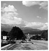 Robert Adams <i>Pikes Peak, Colorado Springs</i> 1968-72 Vintage silver print 10 x 8 inches; 26 x 21 cm