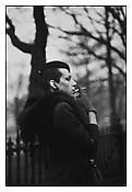 <i>Ivy in the Boston Garden, Boston</i> 1973 Gelatin silver print 20 x 16 inches; 51 x 41 cm