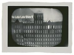 <i>The Late Late Show II</i> c. 1965 Vintage silver print 4 3/4 x 7 inches; 12 x 18 cm