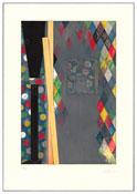 <i>Bushbaby</i> 2004 Intaglio on paper Plate: 33 3/4 x 22 1/4 inches; 86 x 58 cm Sheet: 42 3/4 x 29 3/4 inches; 109 x 76 cm
