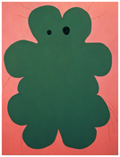 <I>The Polar Bear</i> 1994 Oil on panel 78 1/8 x 59 1/8 inches; 198 x 150 cm