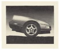 <I>Z</i> 1990 Graphite on paper 16 1/2 x 20 1/2 inches; 42 x 52 cm