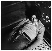 <i>Girl in My Hallway</i> 1976 Gelatin-silver print 14 9/16 x 14 7/8 inches; 37 x 38 cm
