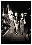 <i>Marlene, Colette and Naomi on the street, Boston</i> 1973 Gelatin silver print 20 x 16 inches; 51 x 41 cm