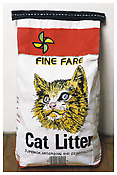 Robert Gober <i>Cat Litter</i> 1990 Cast plaster, vinyl-acrylic, graphite and ink 19 x 11 x 6 3/4 inches; 48 x 28 x 17 cm