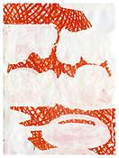 <i>Ill of Ill</i> 2000 Watercolor and acrylic on paper 30 1/4 x 22 1/2 inches; 77 x 57 cm