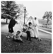 <i>Children with Nun, Florence</i> 1958 Gelatin-silver print Image: 11 x 10 7/8 inches; 28 x 28 cm Sheet: 16 3/4 x 13 3/4 inches; 43 x 35 cm