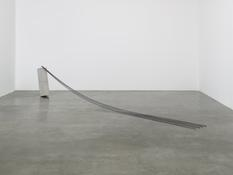 Charles Ray <I>Untitled</i> 1971 Steel and concrete 30 x 144 x 16 inches; 76 x 366 x 21 cm