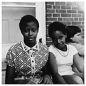 <i>Two Friends, Southbury</i> 1957 Gelatin-silver print Image: 14 3/4 x 14 1/2 inches; 38 x 37 cm Sheet: 19 7/8 x 15 7/8 inches; 51 x 40 cm