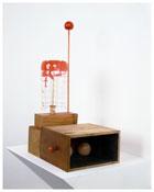 <b>Nayland Blake</b> <i>Untitled</i> 2006 Wood, plastic and acrylic paint 17 1/4 x 9 3/4 x 7 inches; 44 x 25 x 18 cm
