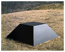 <i>For D.G.</i> 1969 Welded bronze, black patina 28 x 80 x 80 inches; 71 x 203 x 203 cm