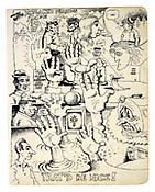 Robert Crumb <i>That'd Be Nice</i> Ink on paper 9 3/4 x 7 1/2 inches