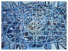 <i>Picture Cell</i> 1997 Oil on linen 76 x 99 inches; 193 x 251 cm