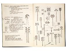Ad Reinhardt <i>Notebook</i> 1958-66 Bound between boards 125 sheets Ink, coloerd crayon and collage on paper 12 5/8 x 9 5/8 inches; 32.5 x 25 cm