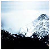 <i>Fullmoon@Glacier des Bossons</i> 2001 Lambda print in artist's frame 47 3/4 x 48 inches; 121 x 122 cm