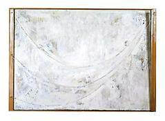 <i>Untitled</i> 2003 Encaustic on canvas and wood with collage and objects 37 1/2 x 50 1/8 x 4 5/8 inches; 95 x 127 x 12 cm