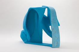 <i>Untitled</i> 2008 Papier-mâché, acrylic paint 25 3/4 x 32 1/2 x 12 1/2 inches; 65 x 83 x 32 cm