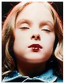 <i>Kirsten, Star</i> 1997 C-print on plexiglass 39 3/8 x 34  inches, 100 x 87 cm