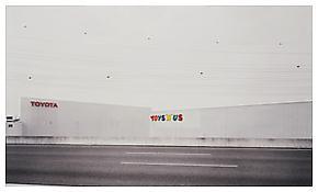 "Toys ""R"" Us 1999 C-Print 81 1/2 x 132 5/8 inches; 207 x 337 cm"