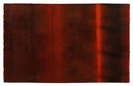 <i>9 Jan '73</i> 1973 Acrylic on paper 25 1/2 x 40 1/2 inches; 65 x 103 cm