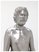 <i>Young man</i> 2012 Solid stainless steel 71 x 21 x 13 1/2 inches; 180 x 53 x 34 cm
