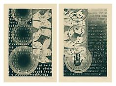 <i>Fragment of a Letter</i>, 2010, Intaglio on Echizen Torinoko handmade paper, two sheets, Each sheet: 44 7/8 x 30 1/2 inches; 114 x 78 cm