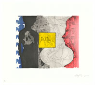 <i>Untitled</i> 2010 Intaglio on Revere Standard White Plate: 13 x 15 11/16 inches; 33 x 40 cm Sheet: 19 x 21 1/2 inches; 48 x 55 cm