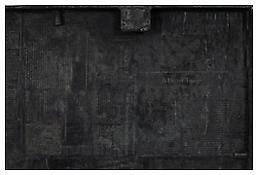 <i>0 - 9</i>, detail, 2008, Bronze, 19 3/4 x 37 5/8 x 1 1/4 inches; 50 x 96 x 3 cm