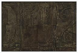 <i>0 - 9</i>, detail, 2009, White bronze, 20 1/8 x 37 3/4 x 1 3/8 inches; 51 x 96 x 4 cm
