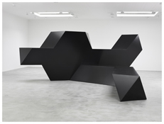 <i>Source</i> 1967 Steel, painted black 132 x 354 x 408 inches; 335 x 899 x 1036 cm