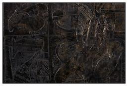 <i>0 - 9</i>, detail, 2010, Bronze, 14 7/16 x 25 5/16 x 1 inches; 37 x 64 x 3 cm